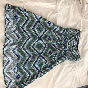 Tully's Strapless Hi-Low Hem Dress